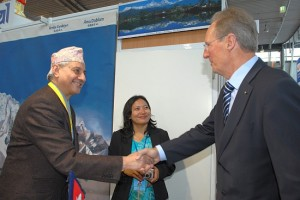 CMT INTERNATIONAL TOURISM FAIR 2010 IN STUTTGART GERMANY